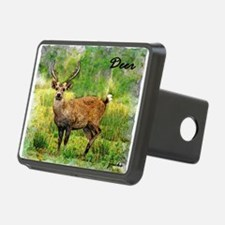 deer in a beautiful setting Hitch Cover