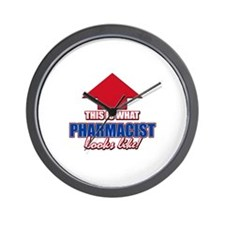 This is what Pharmacist looks like Wall Clock