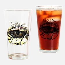 eye of a crocodile Drinking Glass