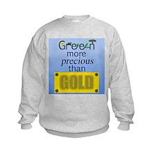 green_goldv4.png Sweatshirt