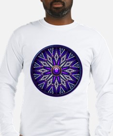 Native American Rosette 10 Long Sleeve T-Shirt