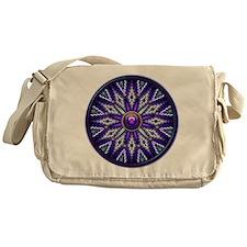 Native American Rosette 10 Messenger Bag