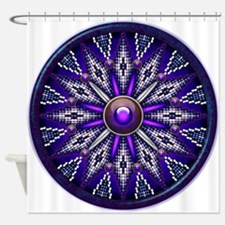Native American Rosette 10 Shower Curtain