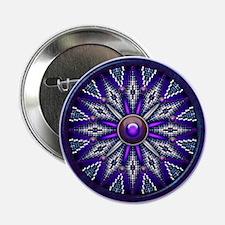 """Native American Rosette 10 2.25"""" Button"""
