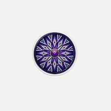 Native American Rosette 10 Mini Button
