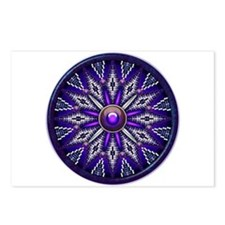 Native American Rosette 10 Postcards (Package of 8