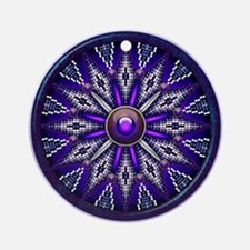 Native American Rosette 10 Ornament (Round)