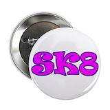 Roller skating sk8 Buttons