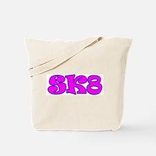 Skater Girl SK8 Tote Bag