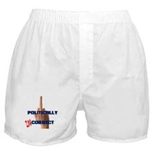 Politically Incorrect Finger Boxer Shorts