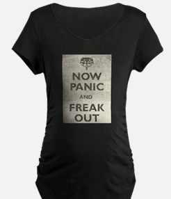 Vintage Now Panic And Freak Out T-Shirt