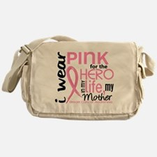 Hero In Life 2 Breast Cancer Messenger Bag