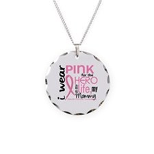 Hero In Life 2 Breast Cancer Necklace