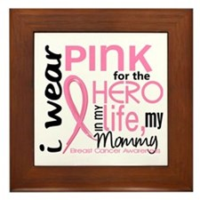 Hero In Life 2 Breast Cancer Framed Tile