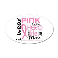 Hero In Life 2 Breast Cancer Wall Decal