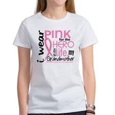 Hero In Life 2 Breast Cancer Tee