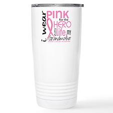 Hero In Life 2 Breast Cancer Travel Mug
