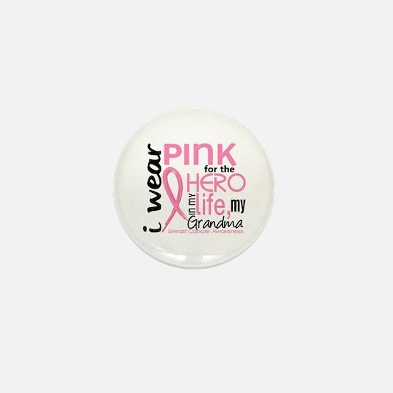 Hero In Life 2 Breast Cancer Mini Button