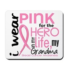 Hero In Life 2 Breast Cancer Mousepad