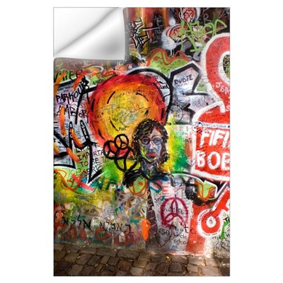Lennon Wall, Prague Wall Decal
