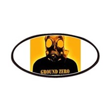 GZW Orange Gas Mask Patches