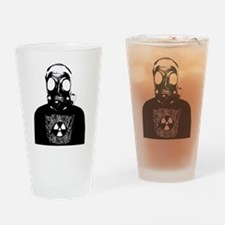 GZW Metal Logo Gas Mask Drinking Glass