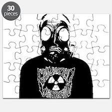 GZW Metal Logo Gas Mask Puzzle