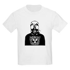 GZW Metal Logo Gas Mask T-Shirt