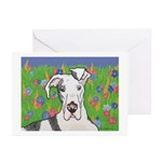 Great Danes Greeting Cards (Pk of 10)