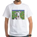 Great Danes White T-Shirt
