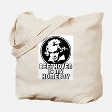 Beethoven is my Homeboy Tote Bag