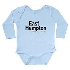 East Hampton LI Long Sleeve Infant Bodysuit