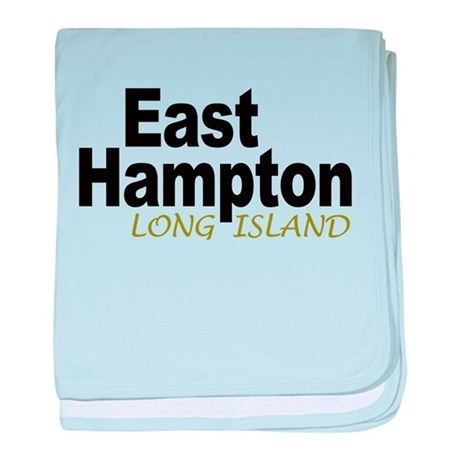 East Hampton LI baby blanket