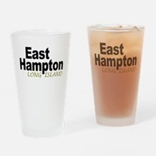 East Hampton LI Drinking Glass
