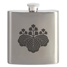 Paulownia with 5-3 blooms Flask