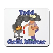 Grill Master Todd Mousepad