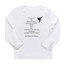 Fighting Wisdom Long Sleeve Infant T-Shirt
