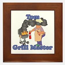 Grill Master Tom Framed Tile