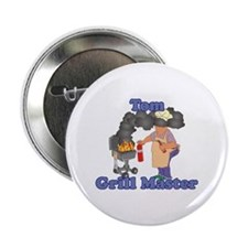 "Grill Master Tom 2.25"" Button"