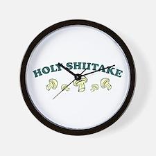 Holy Shiitake Wall Clock