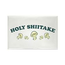 Holy Shiitake Rectangle Magnet
