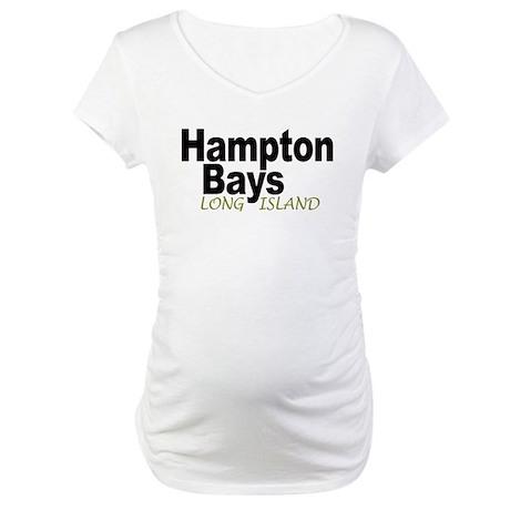 Hampton Bays LI Maternity T-Shirt