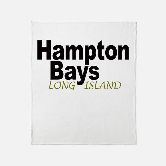 Hampton Bays LI Throw Blanket