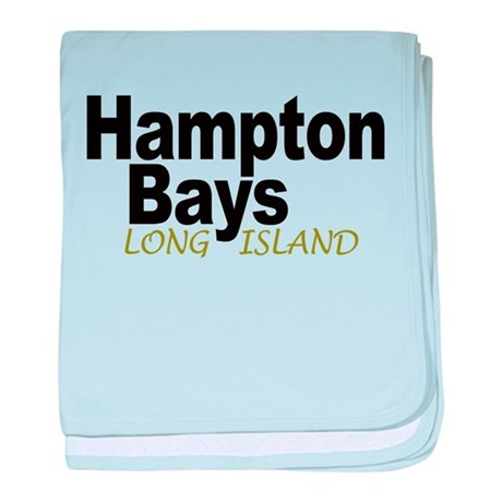 Hampton Bays LI baby blanket