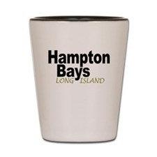 Hampton Bays LI Shot Glass