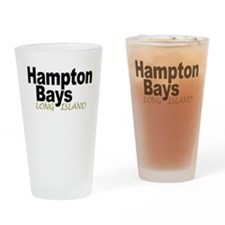 Hampton Bays LI Drinking Glass