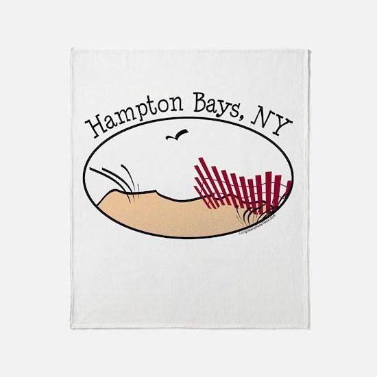 Hampton Bays Dunes Throw Blanket