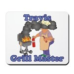 Grill Master Travis Mousepad
