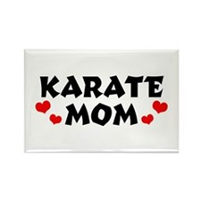 Karate Mom Rectangle Magnet