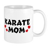 Karate mom Small Mugs (11 oz)